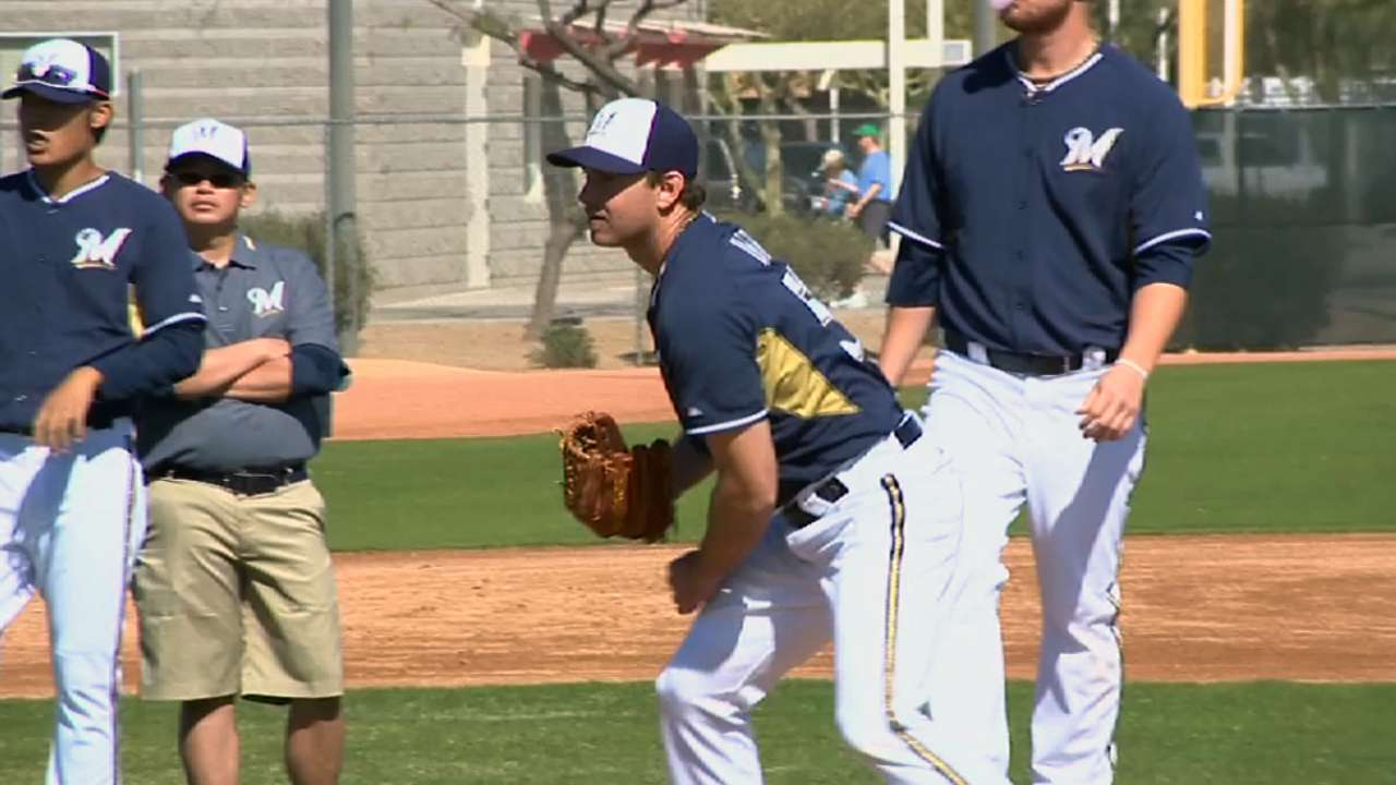 Brewers prepare to tune up with start of spring games