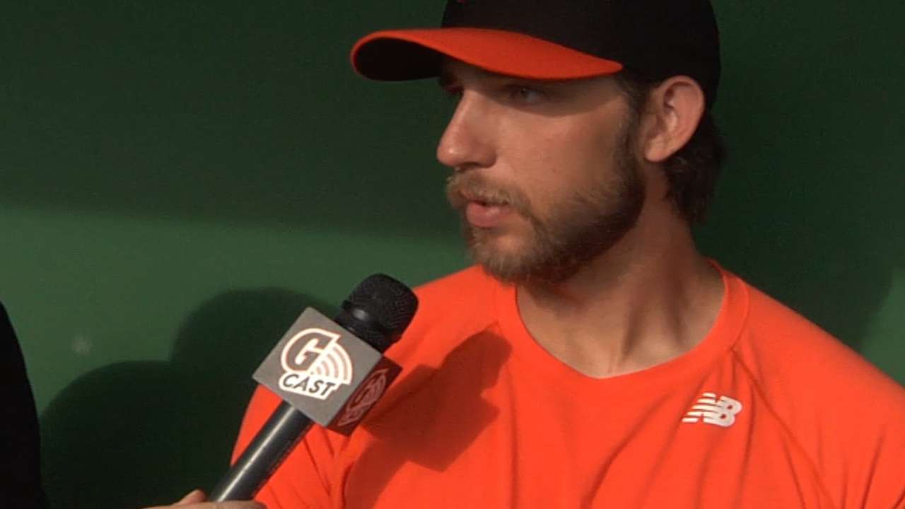 Bumgarner 'thankful and blessed' for opener honor