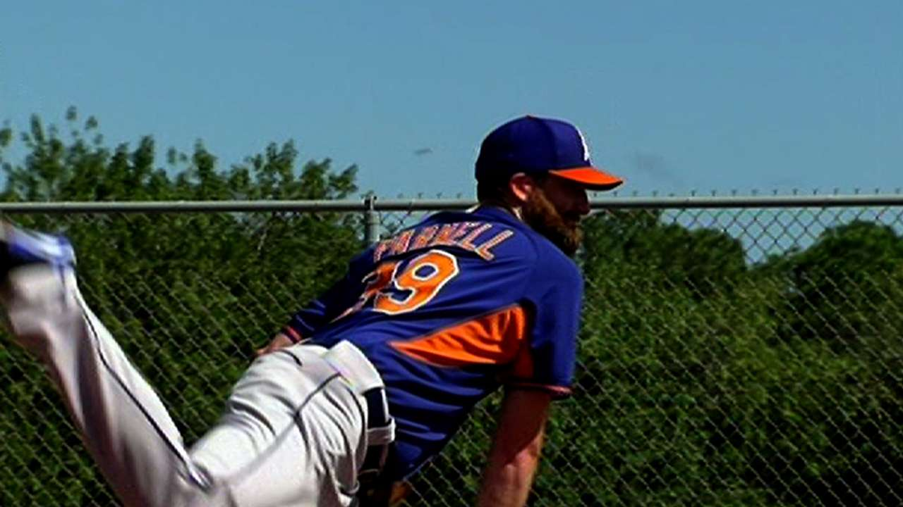 Parnell's return to mound a welcome sight for Mets