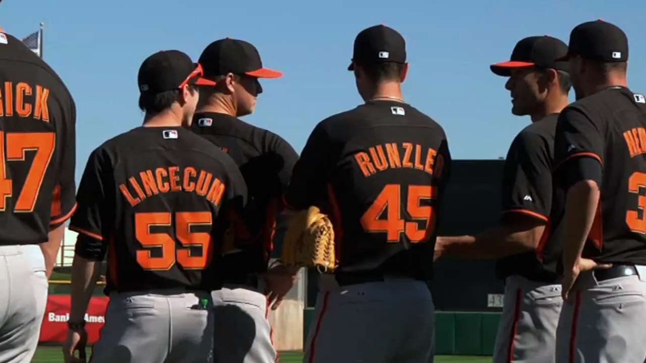 Most Giants ready to go for Cactus League opener