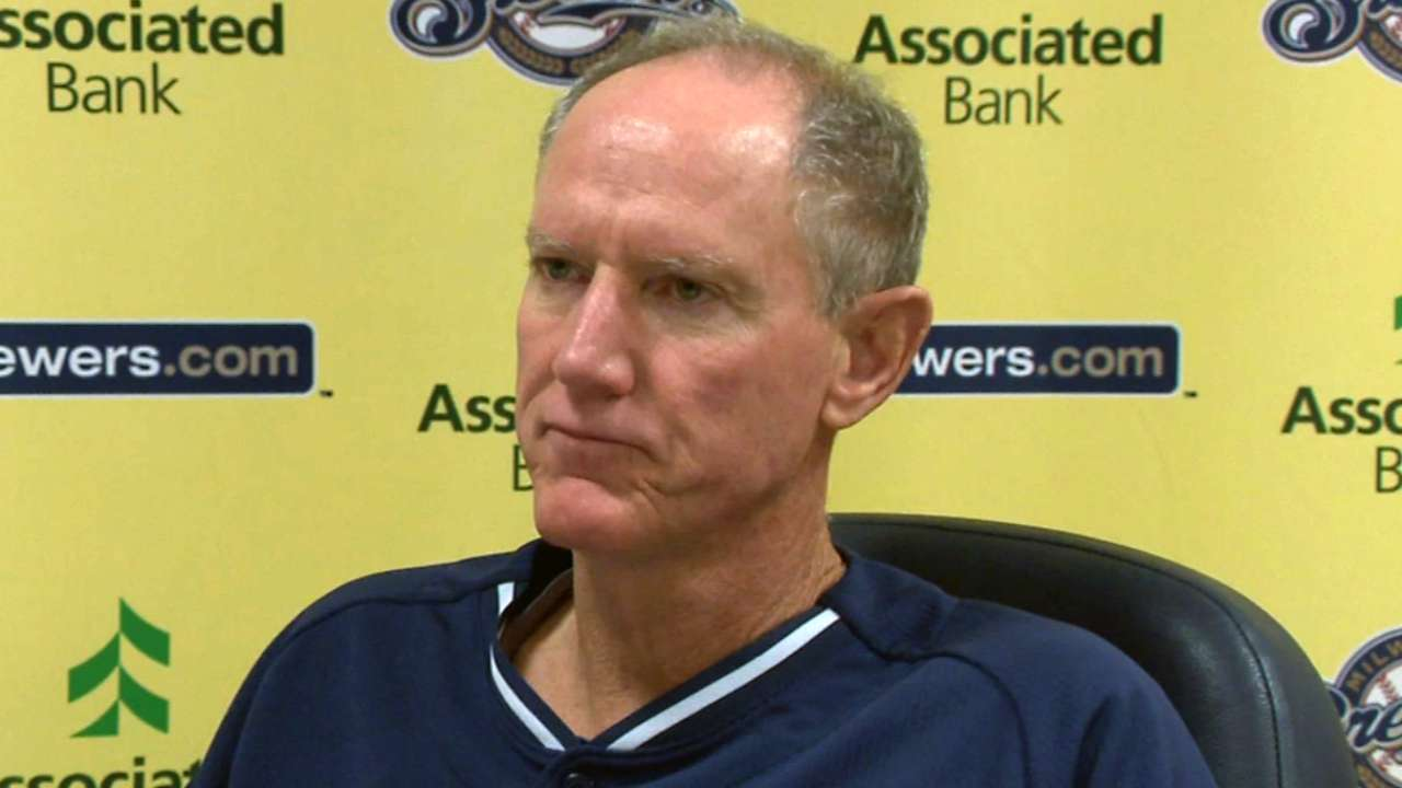 Roenicke fine with home-plate collision rule