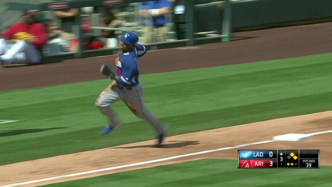 Puig, Rosin shine against D-backs