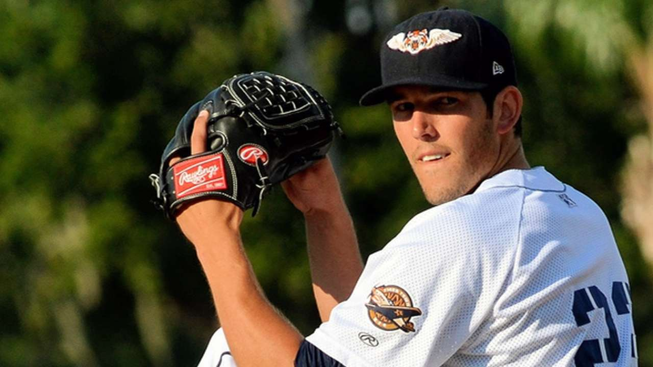 Prospect VerHagen starts Tigers' spring schedule