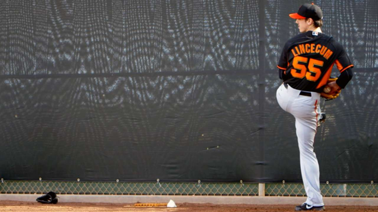 Cain, Lincecum in pursuit of Giant accomplishment