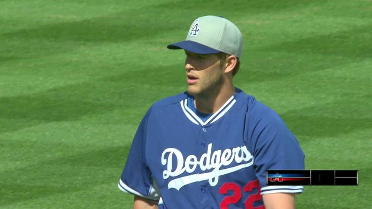 Kershaw's spring debut leaves room for improvement