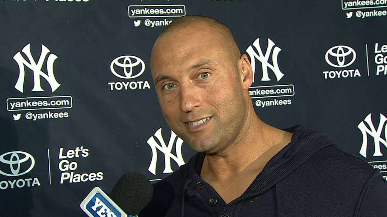 Jeter feels good after first game of Spring Training