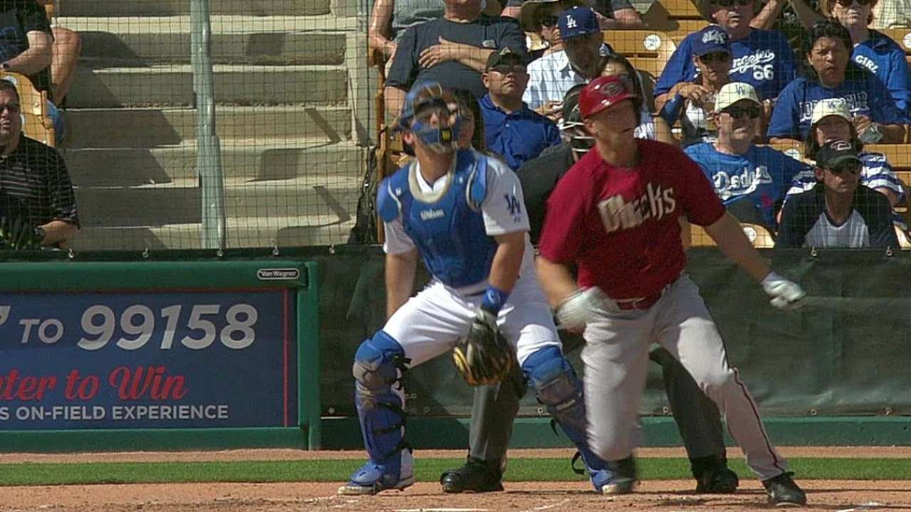 Duncan drives in another run against Dodgers