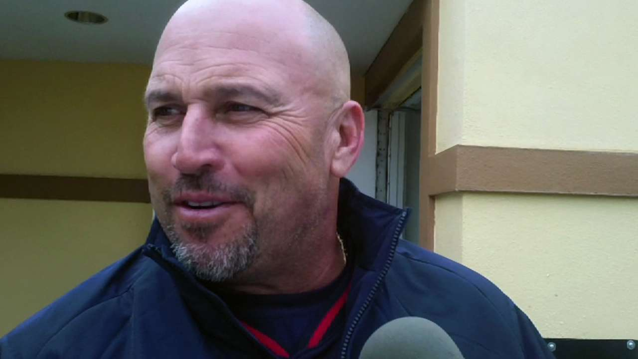 Fredi concerned with relievers' wildness