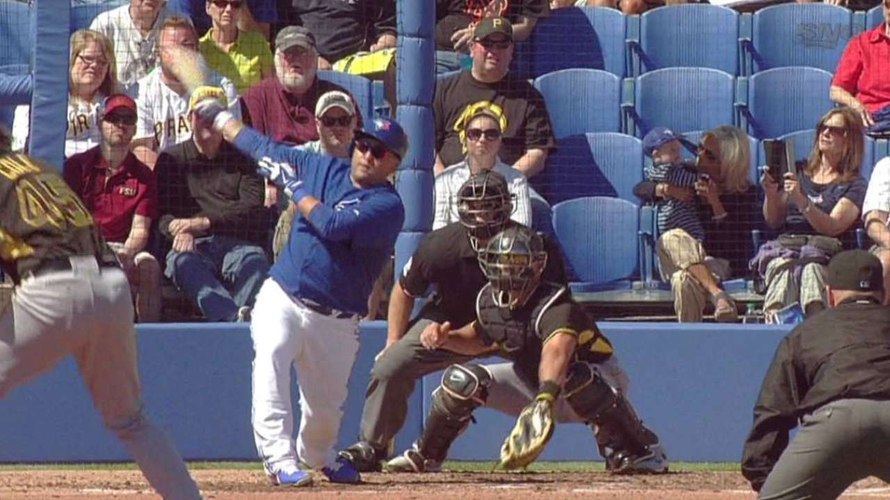 Navarro brings wealth of experience behind plate
