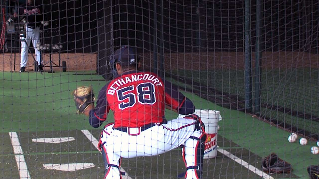 Bethancourt hungry for another taste of the bigs