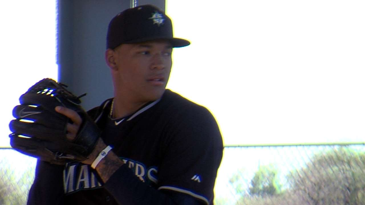 Mariners pace Walker with future in mind