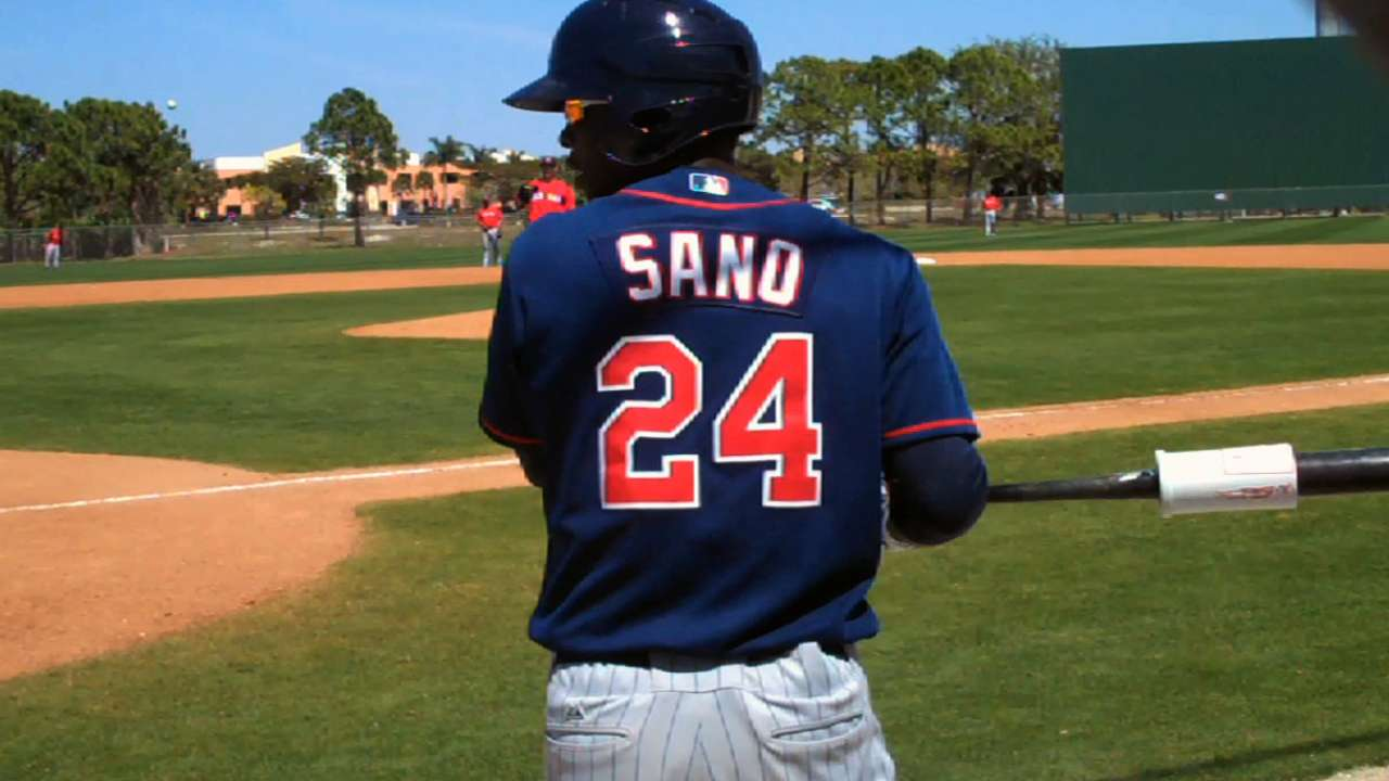 Sano to have sore right elbow examined