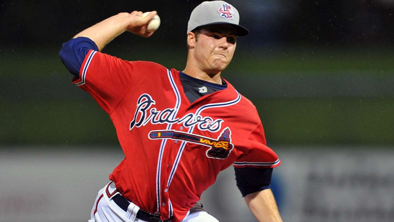 Braves prospect Hursh throws seven-inning shutout