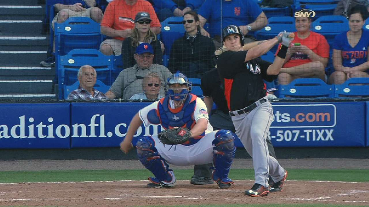 Catcher Realmuto gets first big league chance
