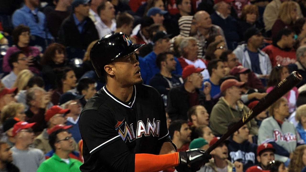 Stanton hits first homer to back Koehler's solid start