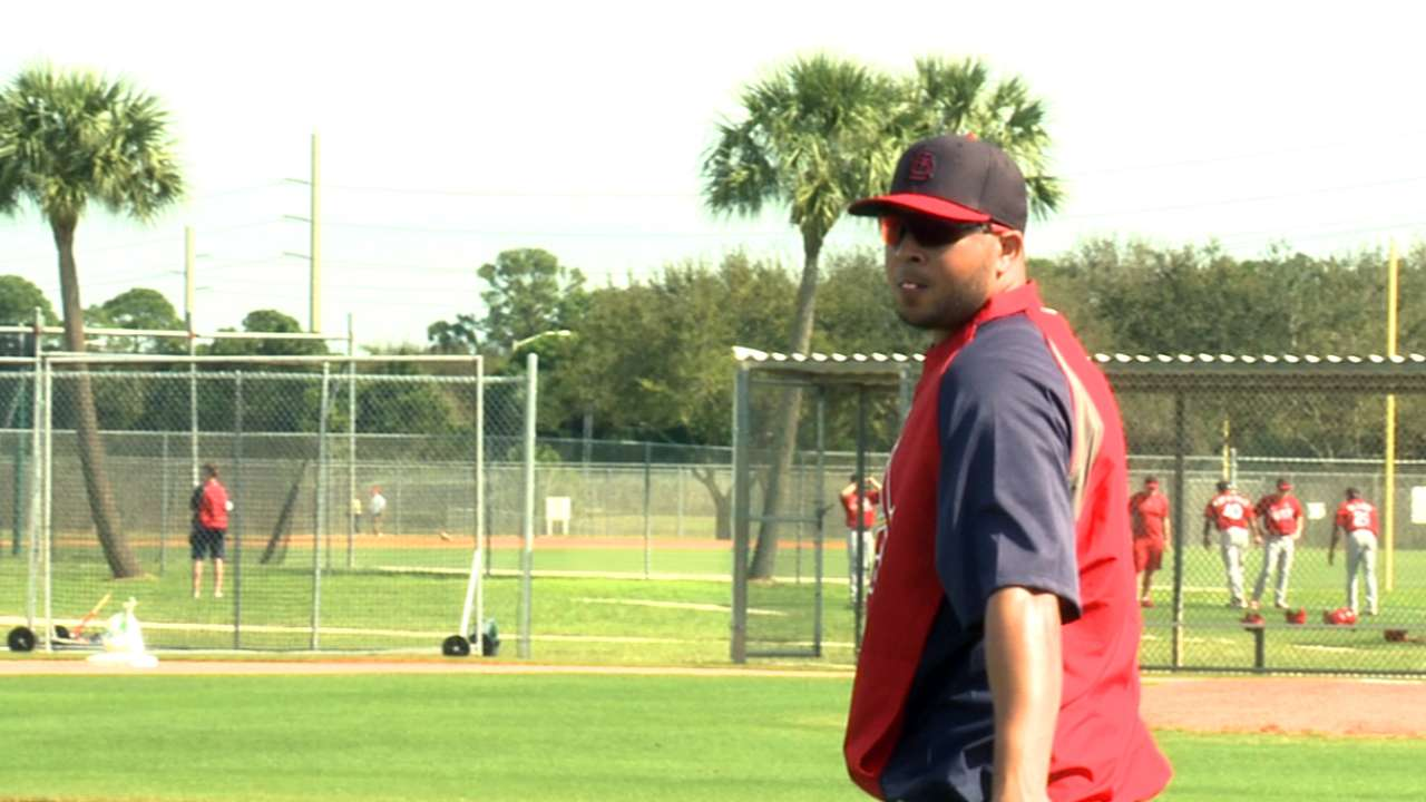 In reunion with Tigers, Peralta 'excited to play'