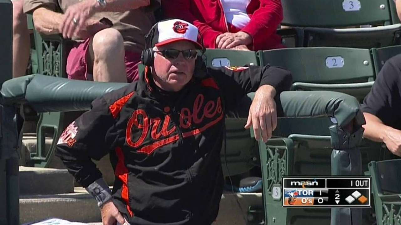 Orioles honor Barlow's memory on wristbands