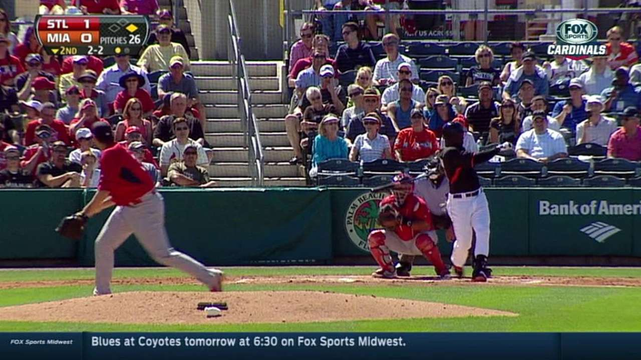 Bold Lynn wants to come up big for Cards
