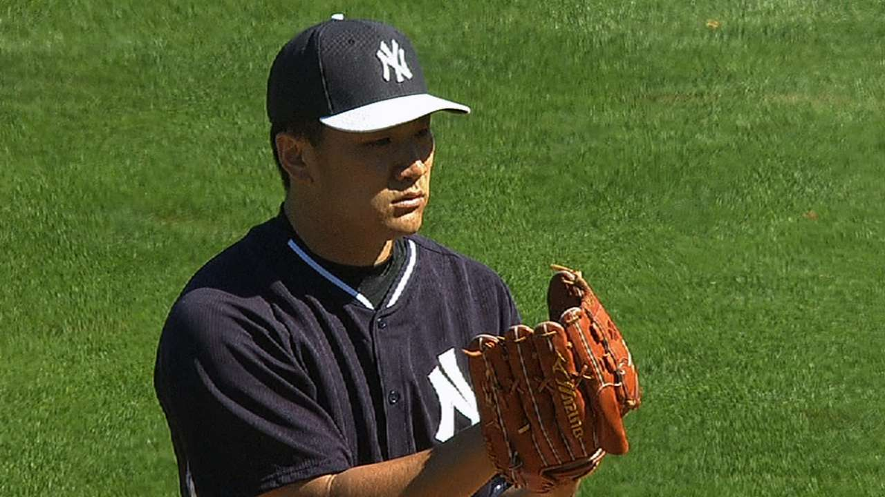 Tanaka tabbed to start against Phillies