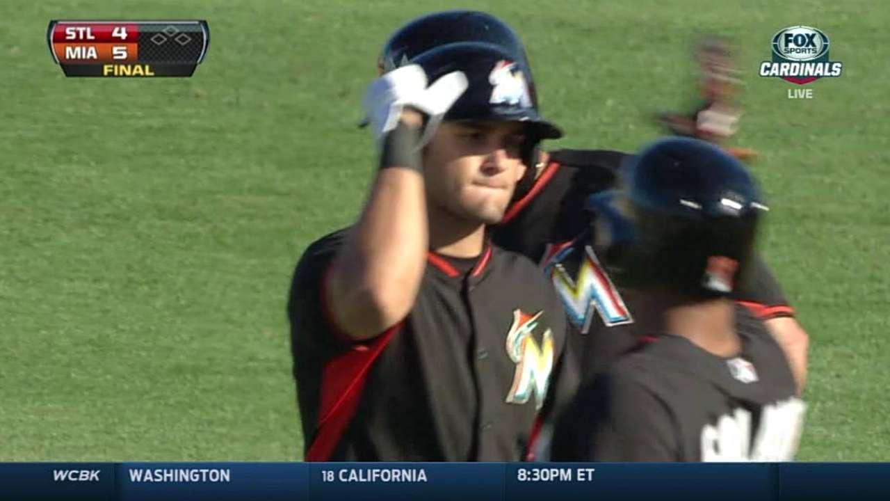 Marlins cap big afternoon with walk-off win