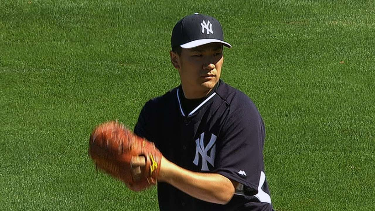 Tanaka as advertised, as Phils learn firsthand