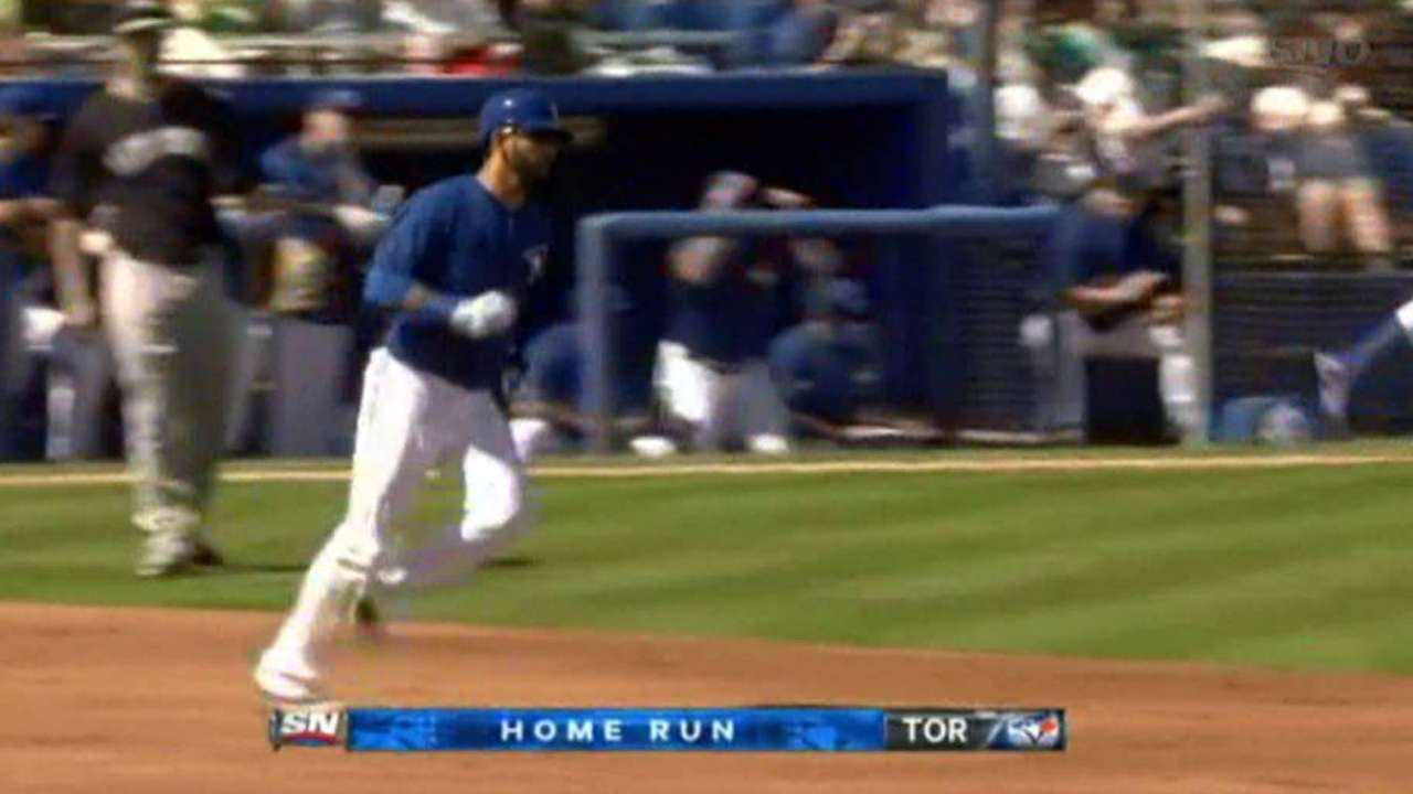 Bautista crushes second homer of spring