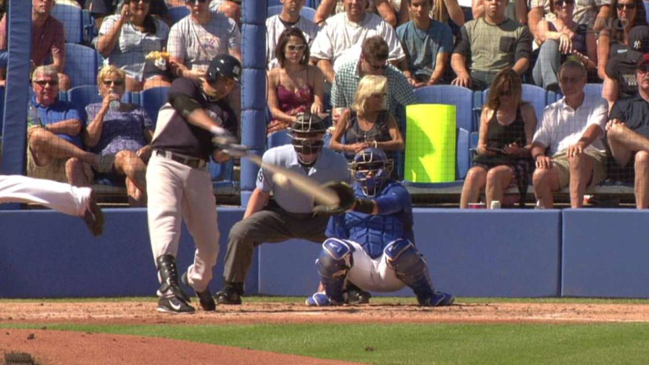 Beltran, Nunez, Murphy go deep for Yanks