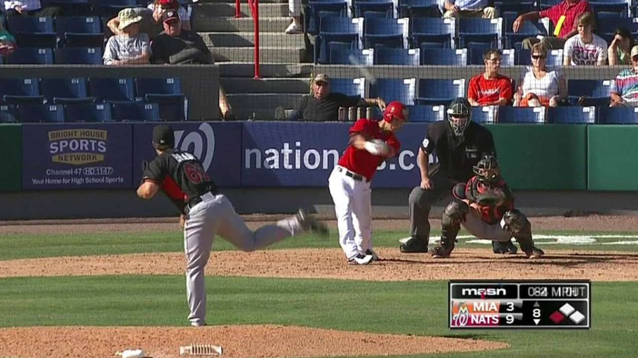 Prospect Souza off to a hot start this spring