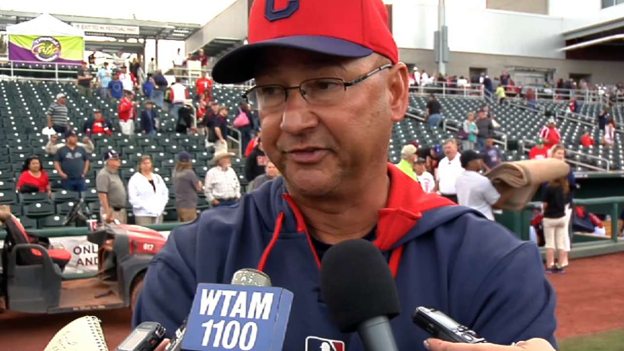 Indians relying on young arms to fill in rotation