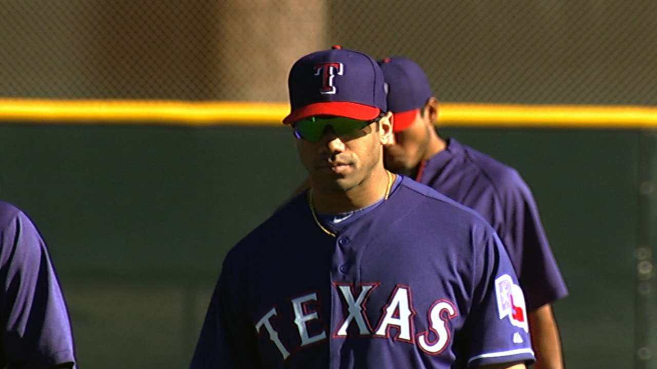 Rangers happy with dose of Super Bowl champ Wilson