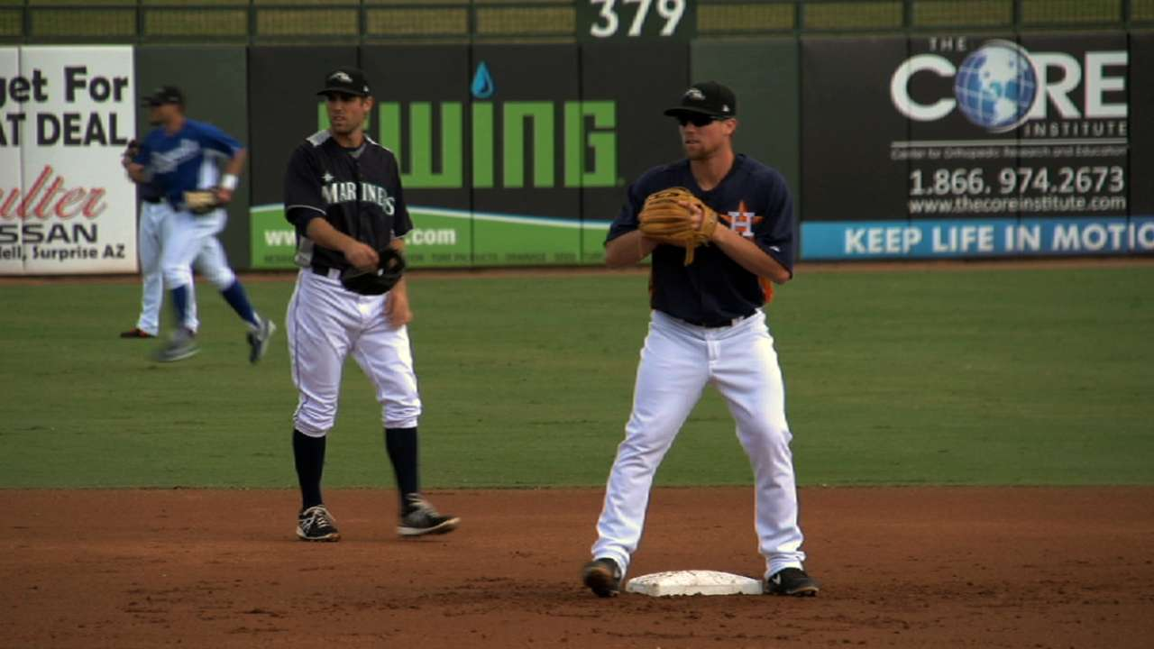 Prospects appreciate opportunity to join big league camp