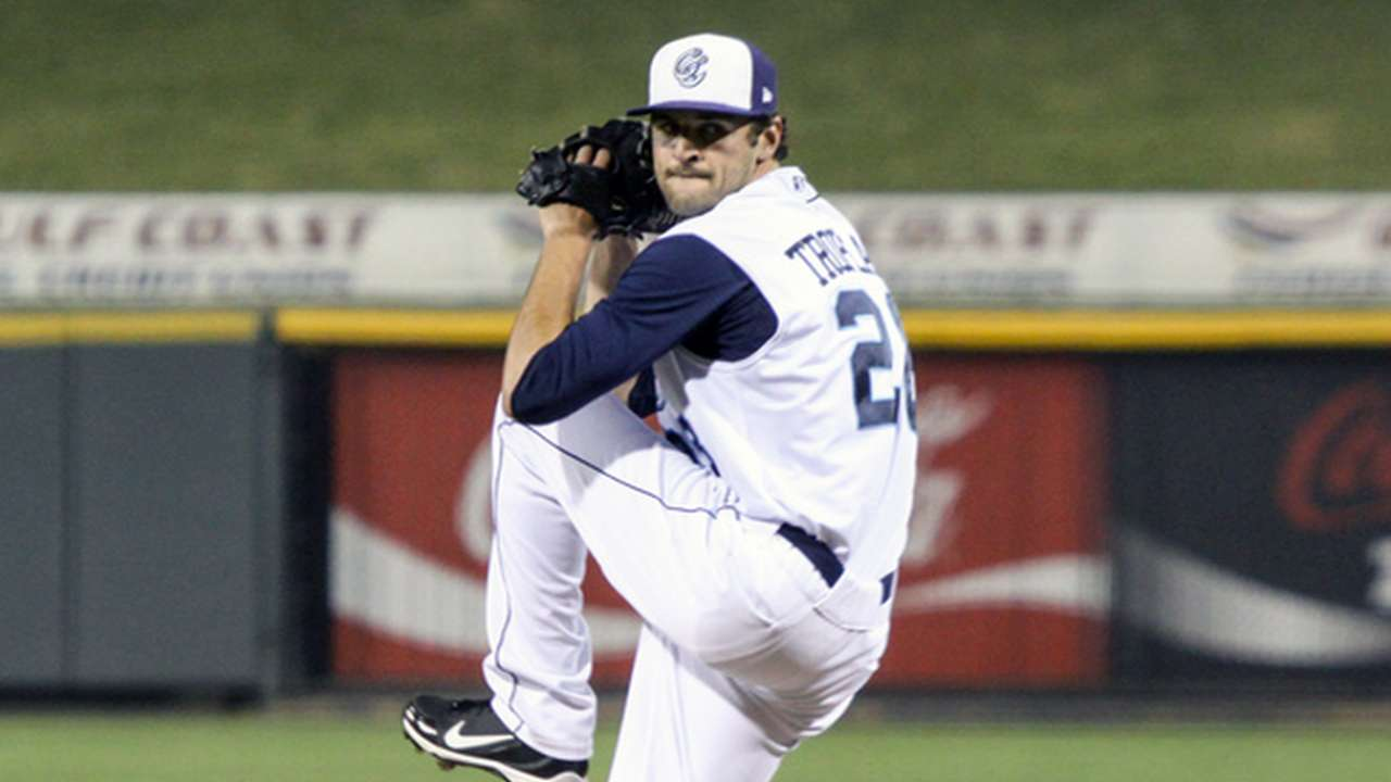 Tropeano K's eight in scoreless outing at Triple-A