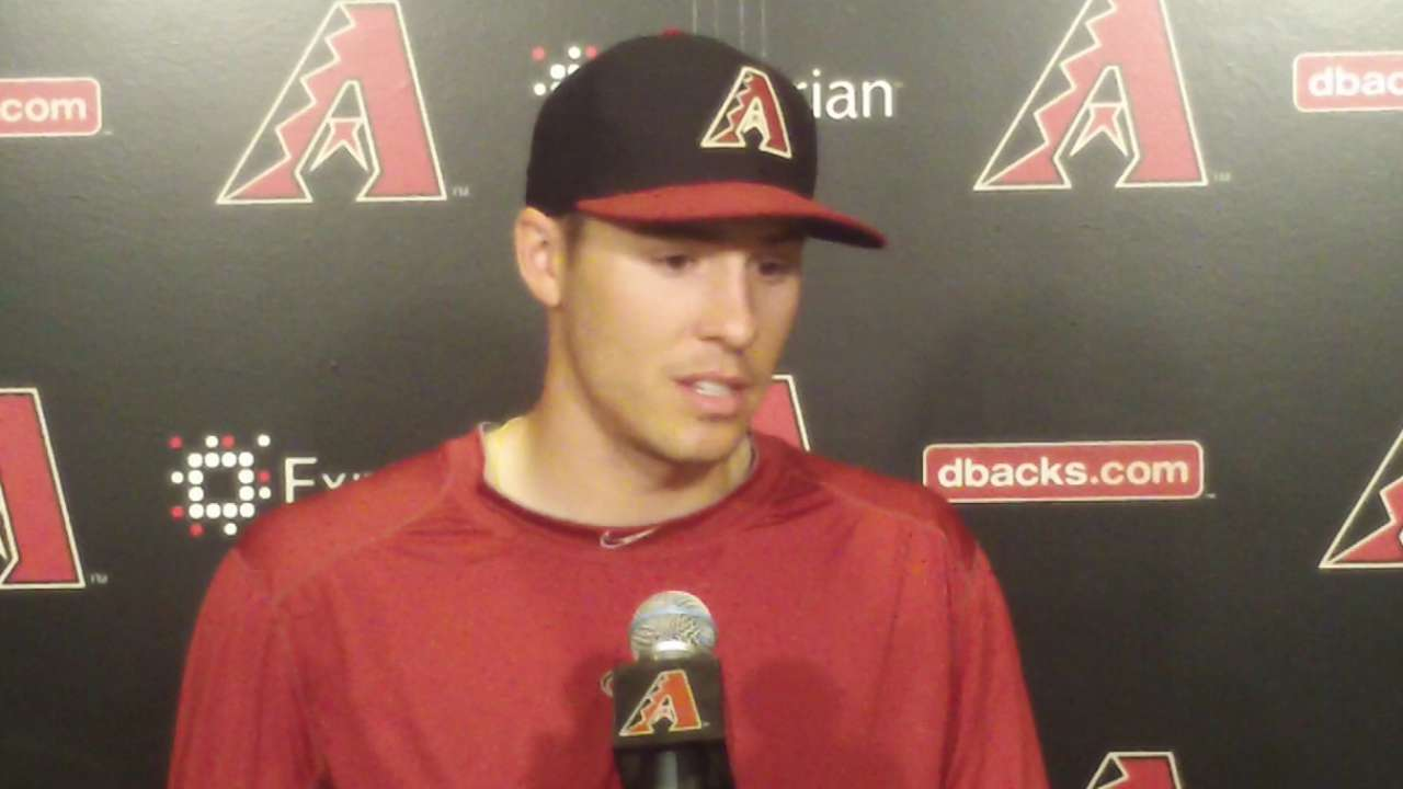 Corbin, Cahill to start for D-backs in Australia