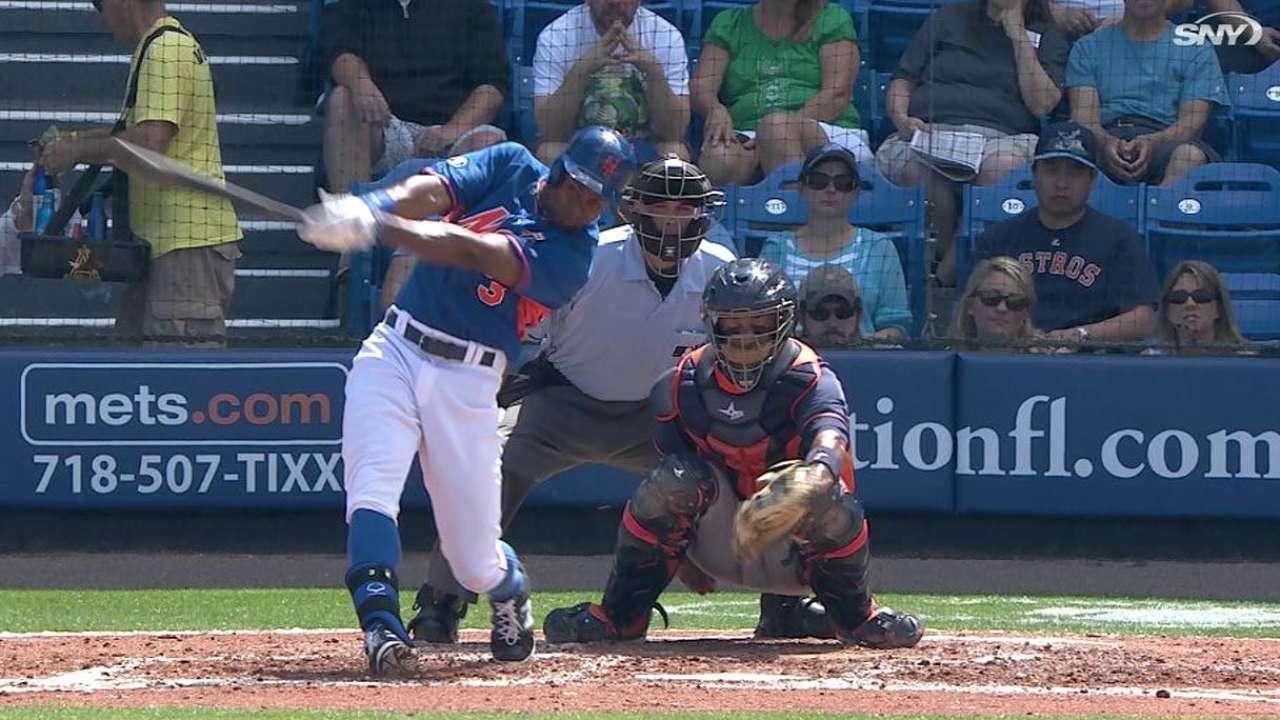 Granderson pega dos HRs, Mets vencen a Astros