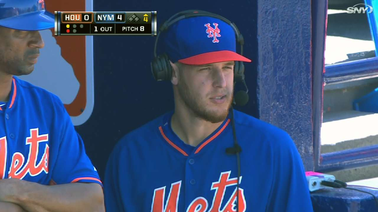 Calmer spring with Mets appeals to Wheeler