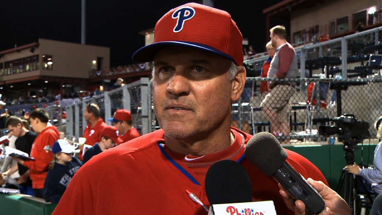 Sandberg not pleased with early spring struggles