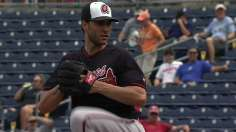 Braves' Beachy Sharp in Second Start