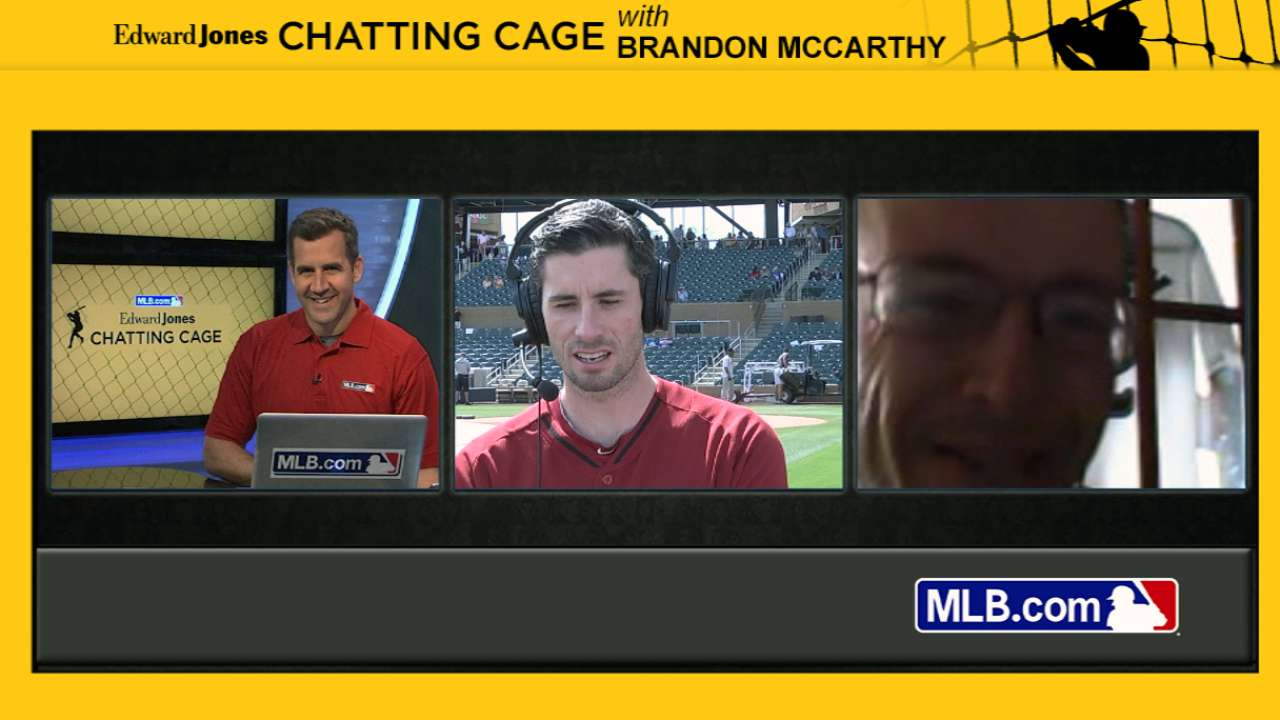 McCarthy opens 2014 Chatting Cage season