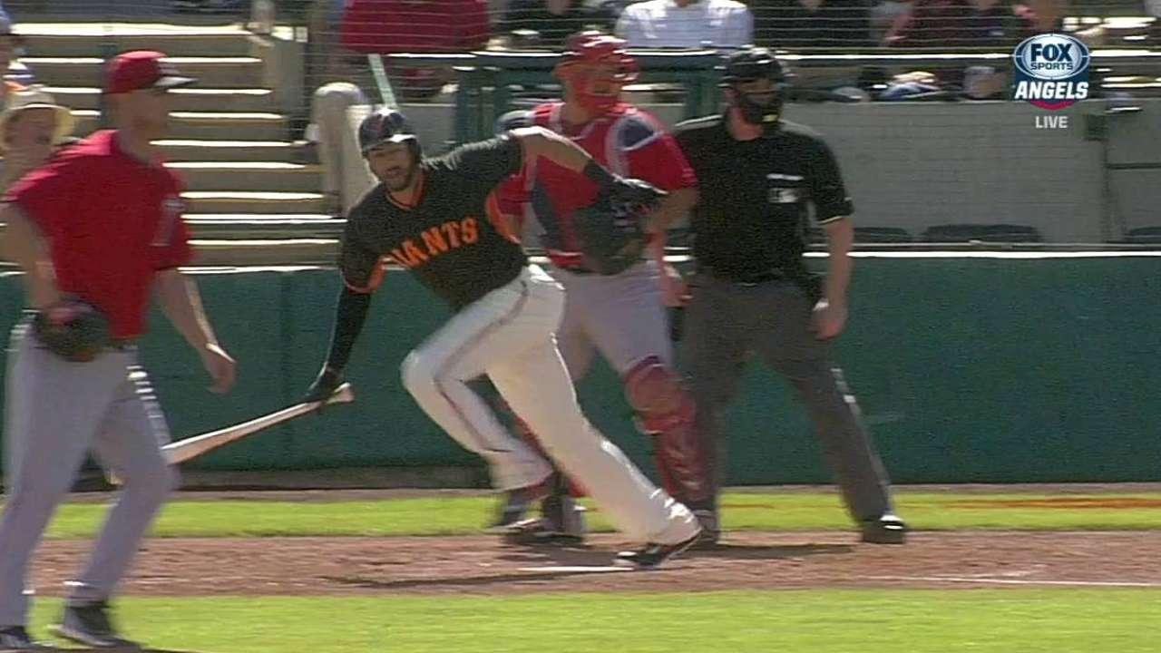Despite low average, Morse feels fine at plate