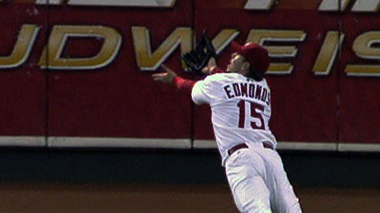 Edmonds' great Cardinals moments