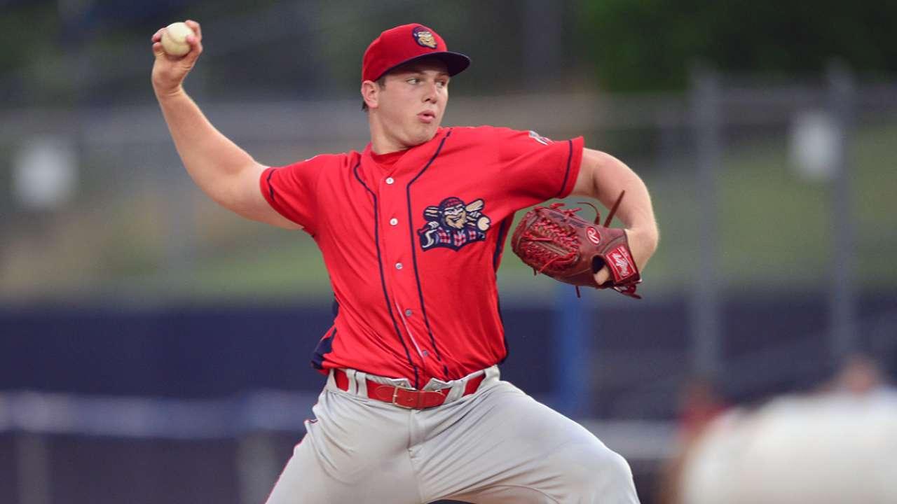 Prospect Gueller throws seven-inning shutout