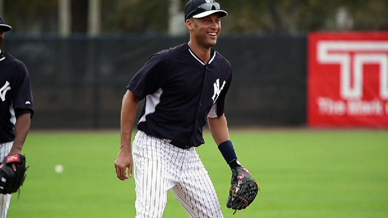 Prior to final season, Jeter reflects on first opener