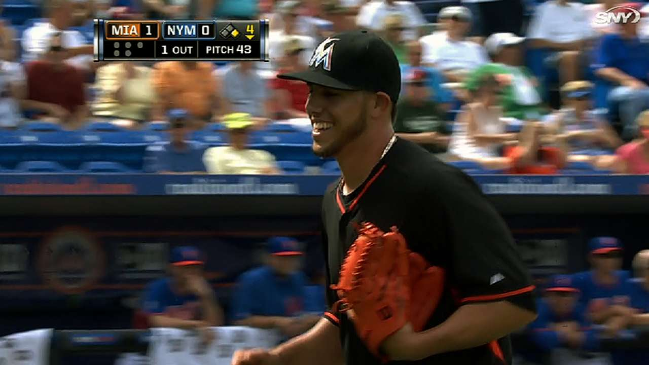 Fernandez brilliant in win over Mets