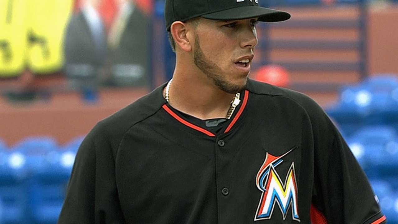 Marlins opt to slate Fernandez for sim game