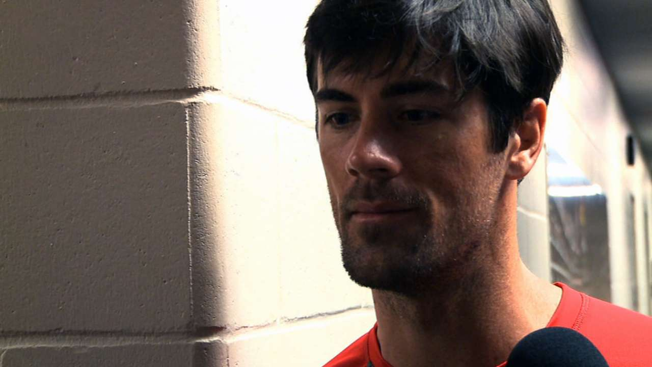 Hamels has setback; says arm feeling 'fatigued out'