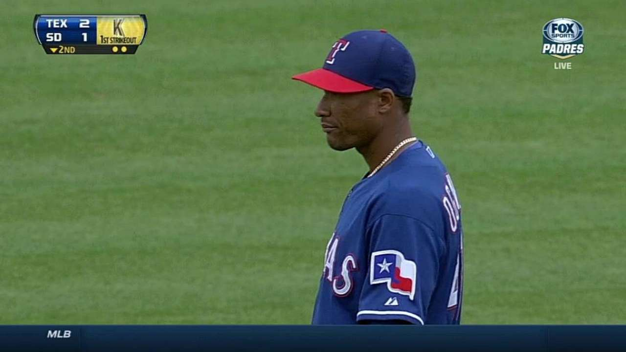 Rangers expect Ogando to crack starting rotation