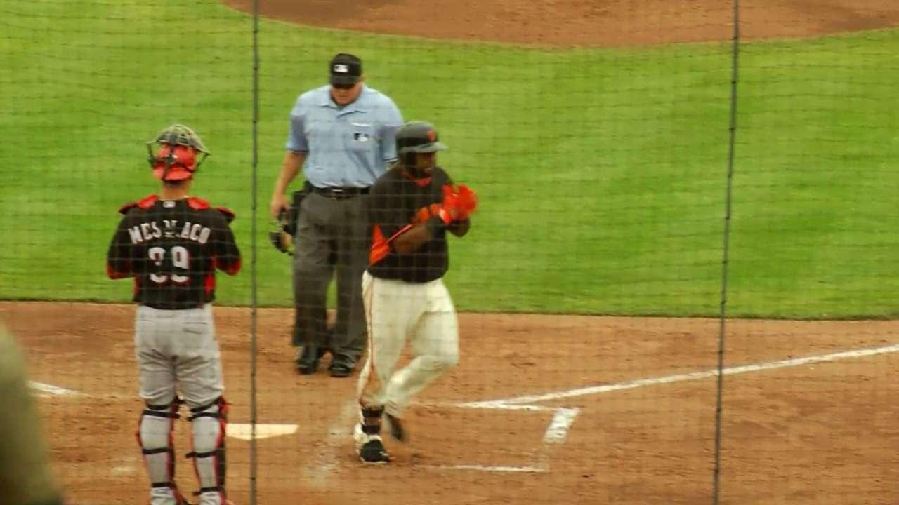 Panda's homer gets Giants' offense going