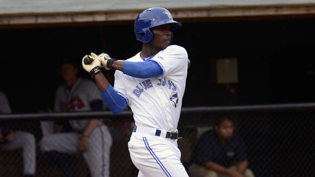 Blue Jays' top two hitting prospects go yard