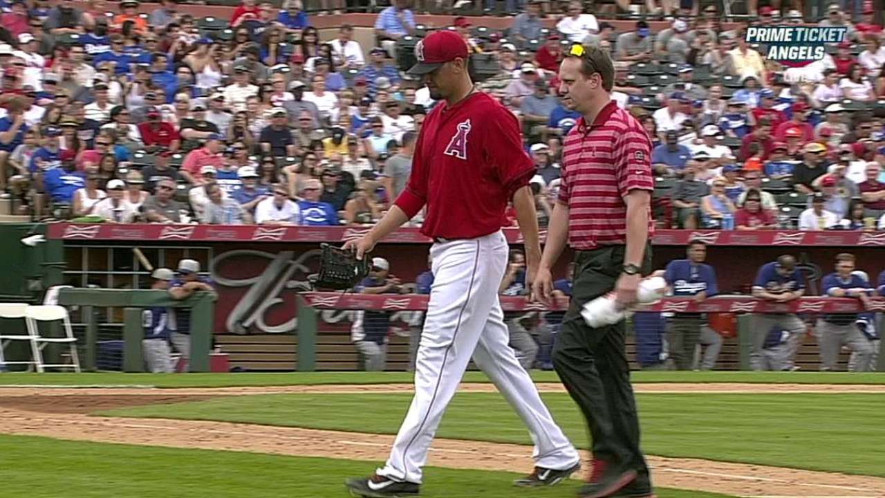 Freese rests foot blister; De La Rosa sidelined