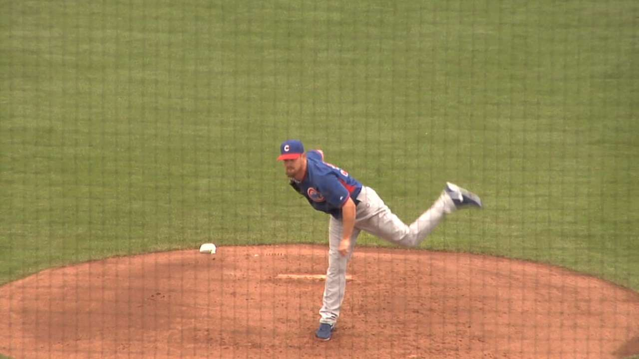 Wood sharp in spring debut as Cubs fall in shutout